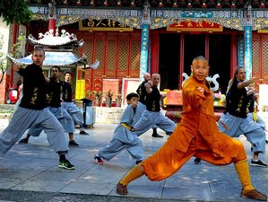 10 Days Authentic Shaolin Monk Training in Shaolin Temple Yunnan, China