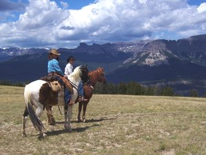 7 Day True Wild West Dude Ranch Vacation in Dubois, Wyoming