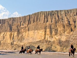15 Day Horse Riding and Trekking on the Upper Mustang, Nepal