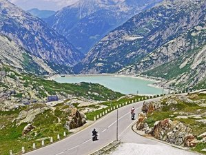 15 Days Trans Alp Express Guided Motorcycle Tour in France, Switzerland, Austria, and Italy