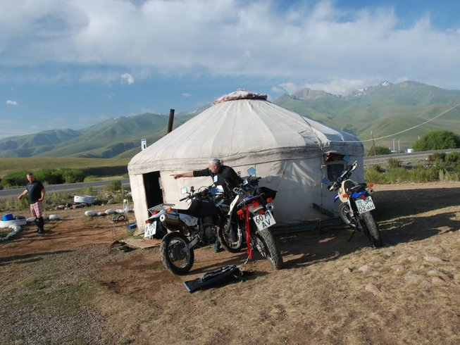 9 Days Off-Road Motorcycle Tour in Kyrgyzstan