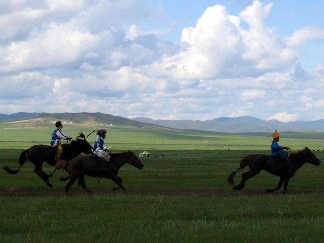 11 Days Guided Mongolia Motorcycle Tour