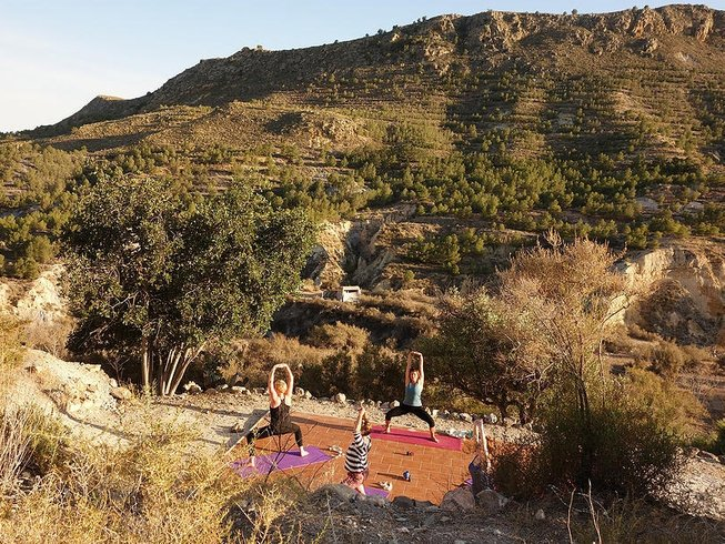 7 Days Inner Radiance Yoga Retreat in Murcia, Spain