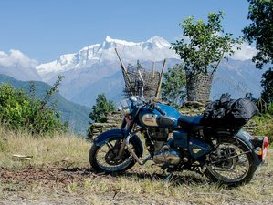 8 Day Guided Himalaya Motorbike Tour in Nepal
