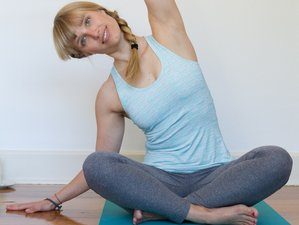 4 2-Hour Private Online One-to-One Sessions of Yoga and Health Coaching Retreat