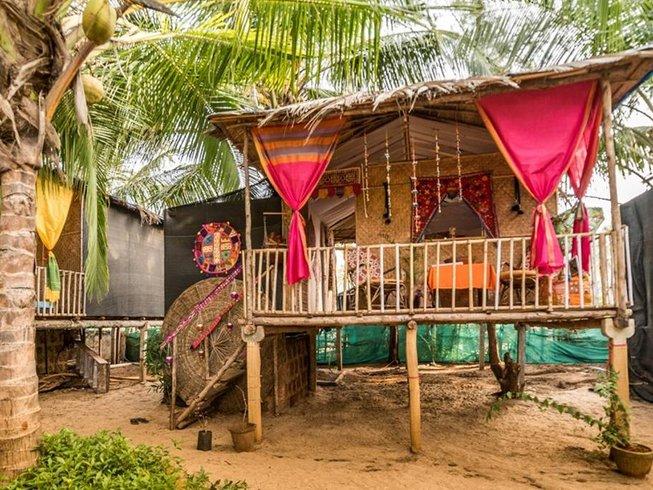 8 días retiro de yoga Vinyasa en el sur de Goa, India