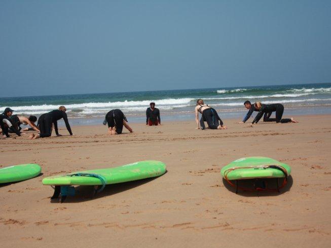7 jours inoubliables en stage de surf et de yoga à Agadir, Maroc