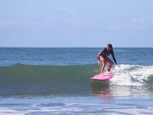 5 jours relaxants en stage de surf et de yoga à Santa Catalina, Panama