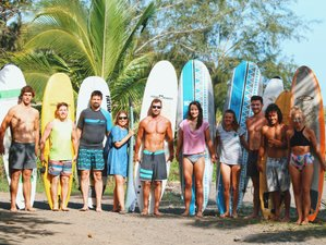 8 Day Surfcamp for Beginners and Intermediate in Guanico, Los Santos