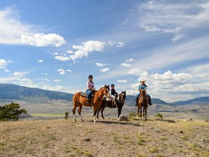 5 Days Wonderful Riding and Dude Ranch Vacation in British