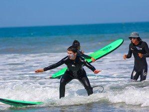 8 Tage Frauen Surf Camp für Fortgeschrittene Surferinnen in Punta Farallon, Ñuro