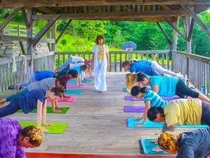 3 Tage Yoga und Radfahr Wochenend Retreat in New York, USA