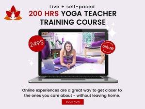 200-Hour Online Self-Paced Hatha and Ashtanga Yoga Teacher Training Course