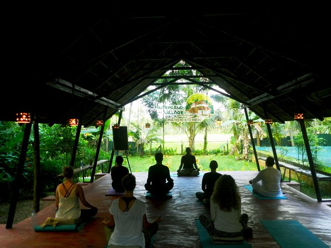 14 Days Kerala Yoga, Detox and Weight Loss Retreat