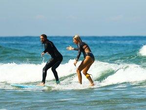 4 jours en séjour de yoga et surf dans les Landes, France
