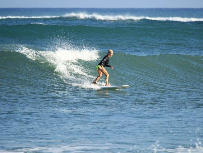 8 jours en stage de yoga et surf de luxe dans le Département de Rivas, Nicaragua