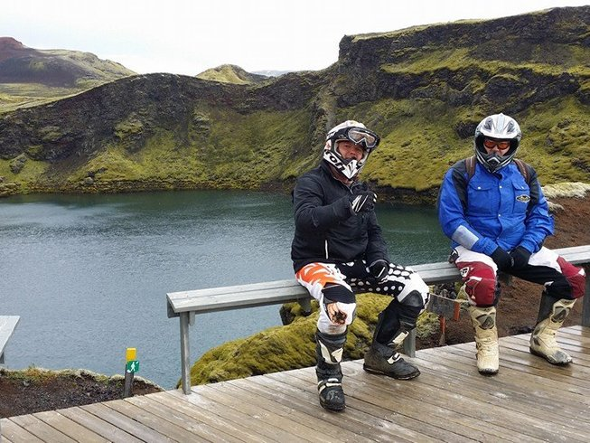 5 Days Adventure Motorcycle Tour in Iceland