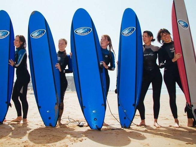8 Days Skill-Improving Surf Camp Portugal