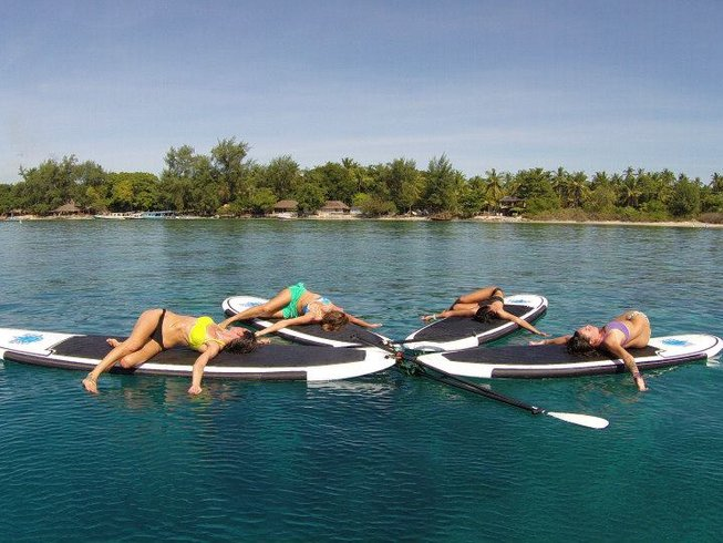 7 Days Fun Dive, SUP, and Yoga Retreat in Bali