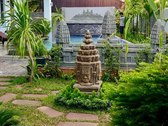 6 jours en retraite de yoga thérapeutique, pleine conscience et méditation à Siem Reap, Cambodge