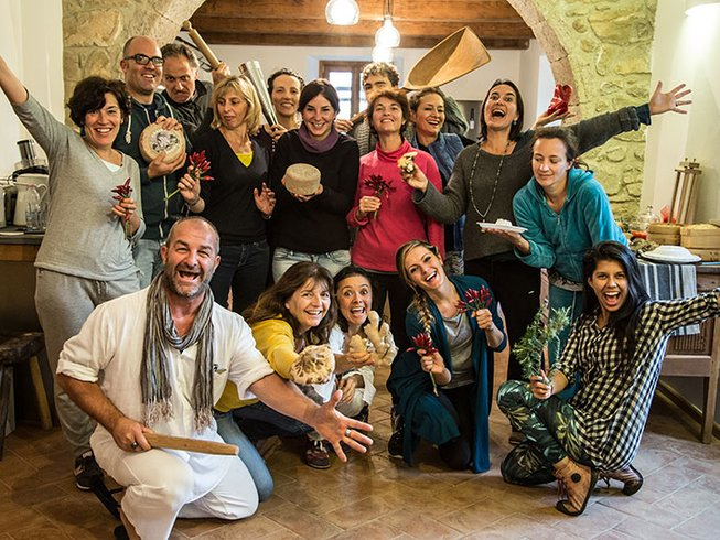 7 Days Ayurvedic Medicine, Cooking Training and Yoga in Tuscany, Italy