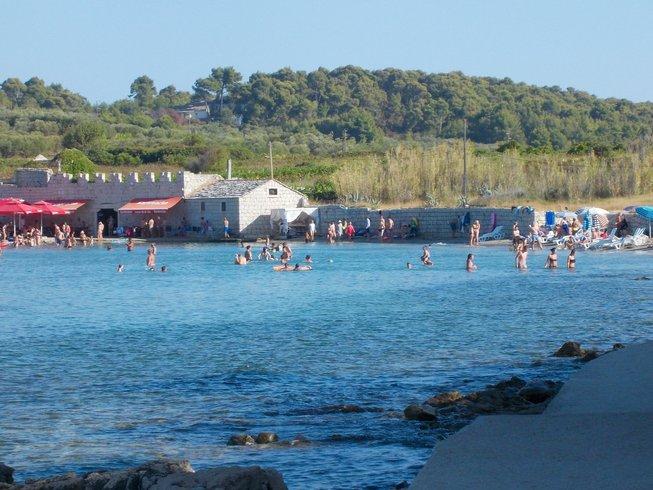 8 Tage Yoga, Sandstrand und Fahrrad in Lumbarda, Insel Korcula