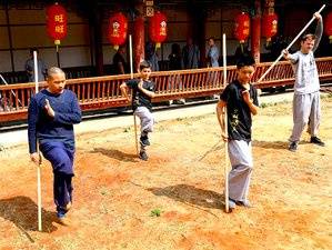4 Days Authentic Shaolin Kung Fu Training in Kunming, China