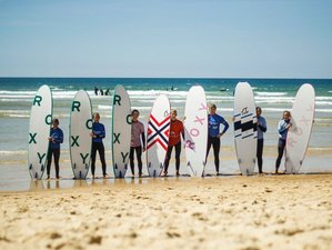 15 Days Relaxing Surf Camp and Yoga Retreat in France