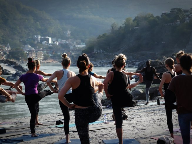 200 Hour Vegan Hatha, Ashtanga, Vinyasa flow & Ayurveda Yoga Teacher  Training in Rishikesh India