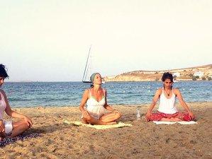 8 jours en stage de yoga et méditation dans les Cyclades, Grèce