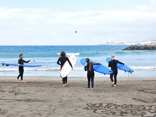 5 Days Surfing and Yoga Retreat in Tenerife, Spain