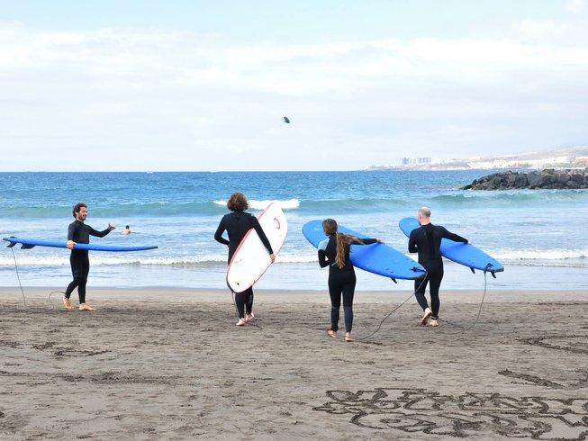 5 Tage Surf und Yoga Retreat auf Teneriffa, Spanien