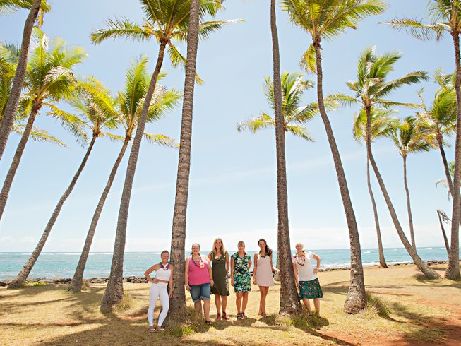 7 días entrenamiento para mujeres y retiro de yoga en Hawái, EUA