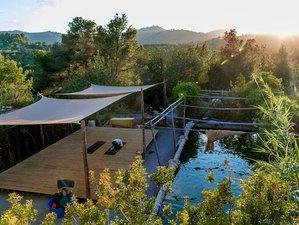 7 Tage Acroyoga Retreat auf Ibiza mit Yoga, Thai Massage, Tanz, Natur Abenteuer und Wasser Tanz