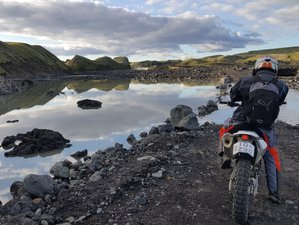 6 Day Adventurous Off-Road Guided Motorcycle Tour in Iceland