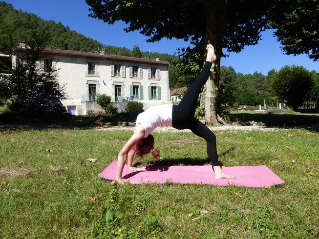 5 Tage Entspannender Yoga Retreat in Frankreich