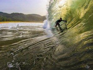 8 Days Invigorating Surf Camp in Ubatuba, São Paulo, Brazil