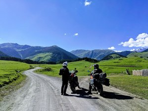7 Day All-inclusive Authentic Guided Motorcycle Tour in Georgia