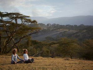 14-Daagse Safari, Mindfulness en Yoga Retraite in Tanzania