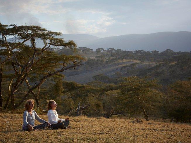 14 Days Meditation, Breathing, Yoga Safari in Tanzania