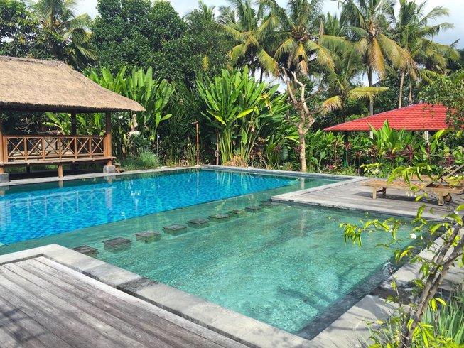4 jours en stage de yoga et méditation relaxante à Ubud, Bali