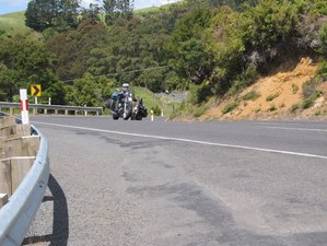 26 Days Fully-Guided North and South Island Motorcycle Tour in New Zealand