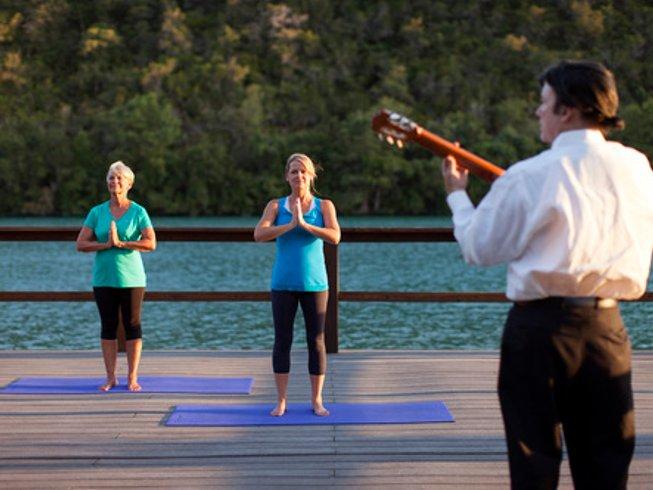 4 días retiro de yoga y SUP de lujo en Texas, EUA