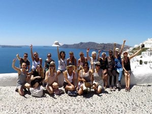 8 Days Jivamukti & Restorative Yoga Retreat in Santorini, Greece