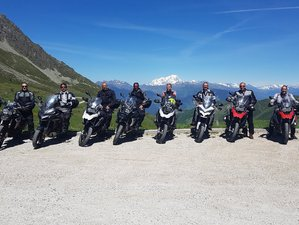 8 Day in the French Alps Guided Motorcycle Tour in France
