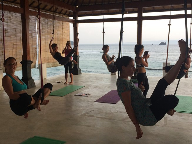 "7 jours en stage de yoga ""How are you really?"" face à la mer à Bali, Indonésie"