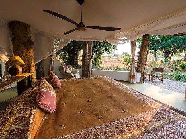 6 Days Lower Zambezi River and South Luangwa Park Safari in Zambia