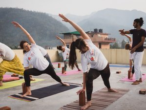 32 Days 300-Hours Scholarship Yoga Teacher Training in Rishikesh, India