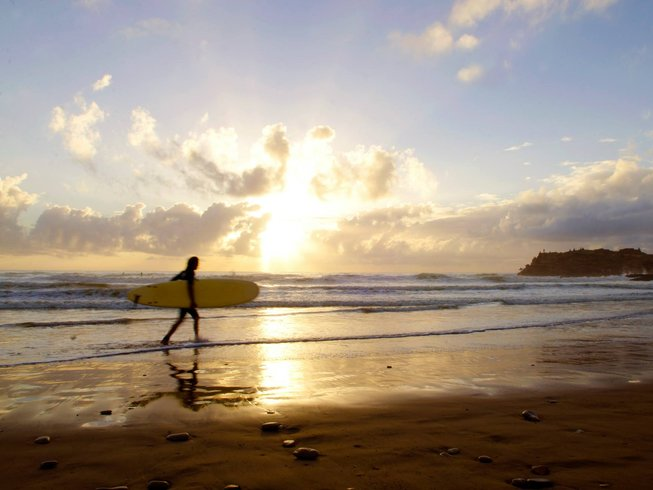8 Days Sunny Yoga and Surf Stay in Tamraght, Sous-Massa, Morocco