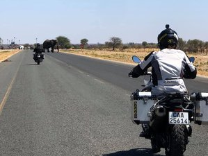 21 Days The Grand Tour: Guided Motorcycle Tour South Africa, Namibia, Zambia, Zimbabwe, and Botswana